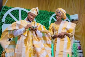 Mike Bamiloye's Daughter Darasimi Holds Traditional With Fiance Lawrence Oyor