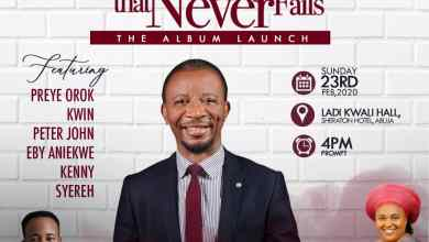 The Rock That Never Fails Concert and Album Unveiling by Dr Paul