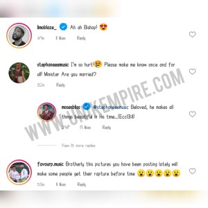 Mixed Reactions As Moses Bliss Shares Family Themed Photos With Lady And Baby Boy