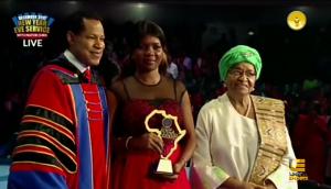 Meet Future Africa Leaders Awards 2019 Winner Babiene Heline Eweni