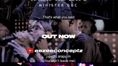 What He Says by Minister GUC official music video