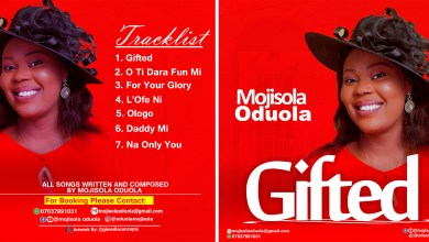 Download Gifted album by Mojisola Oduola.