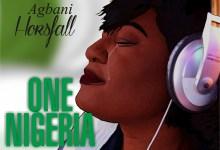 One Nigeria by Agbani Horsfall