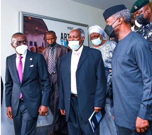 Osinbajo, Sanwo-Olu, others attend Kumuyi's book launch in Lagos
