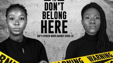 You Don't Belong Here Rap & Poetry against COVID-19 by Peace Laurels & Neeta Rare