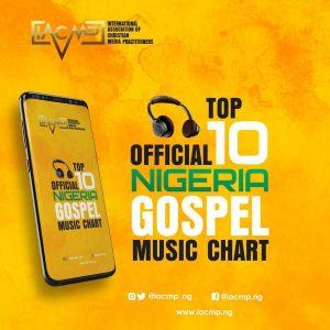 Testimony (Mr. Jaga) Tops IACMP Official Nigerian Gospel Music Top 10 Chart | December Edition