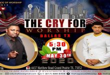 The Cry For Worship 2020 with David Etta