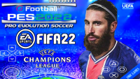 PES 2022 PPSSPP ANDROID ESTILO PS5 GRÁFICOS ULTRA HD