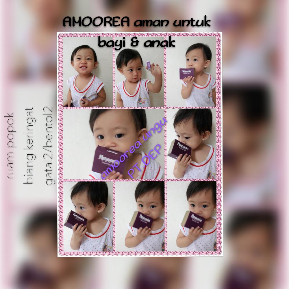 Sabun Amoorea juga aman untuk bayi