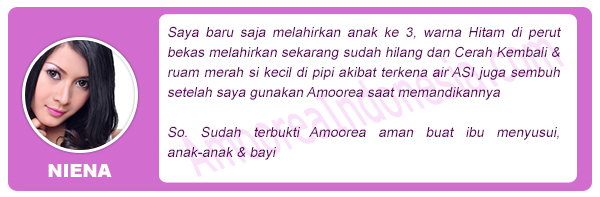 Testimonial Amoorea Merpati Store