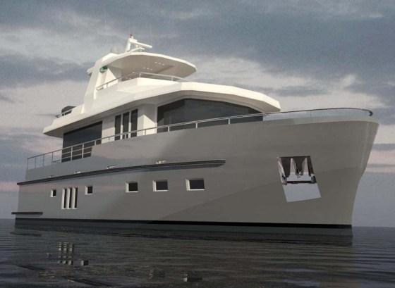 Bering Yachts 18-метровая экспедиционная яхта | UNIK YACHTS