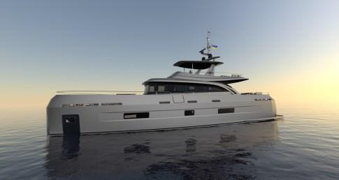 Экспедиционная моторная яхта