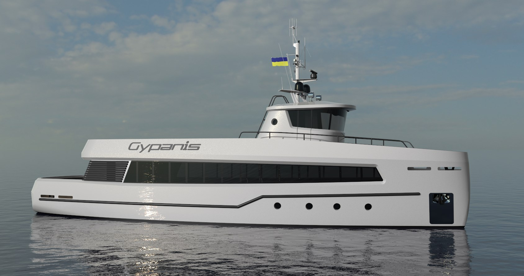 Passenger ship PS GYPANIS