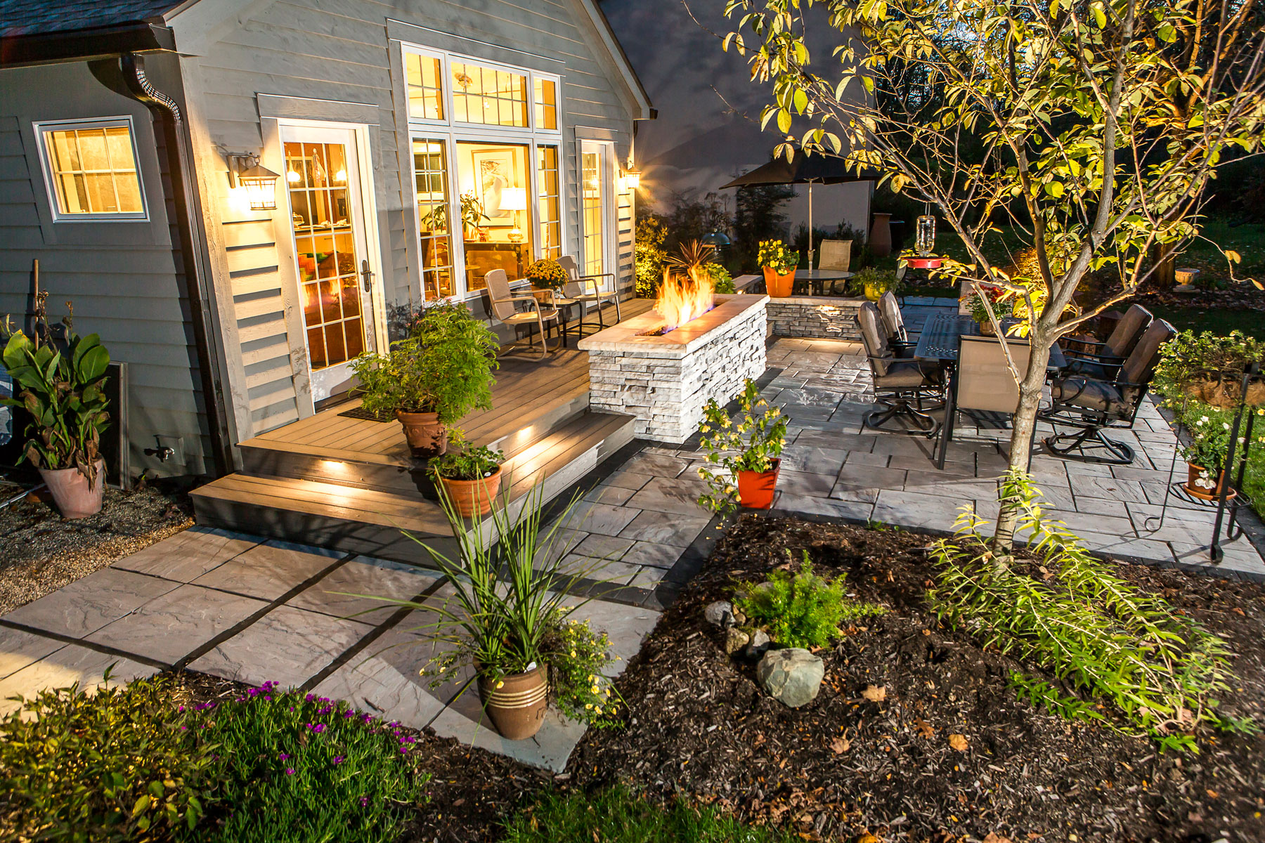 Outdoor Landscape Lighting for Patios, Walkways, and ... on Landscaping And Patios  id=22817