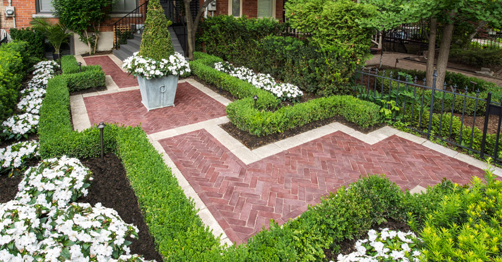 Using paver patterns to transform your patio design | Unilock on Backyard Pavers And Grass Ideas id=18392