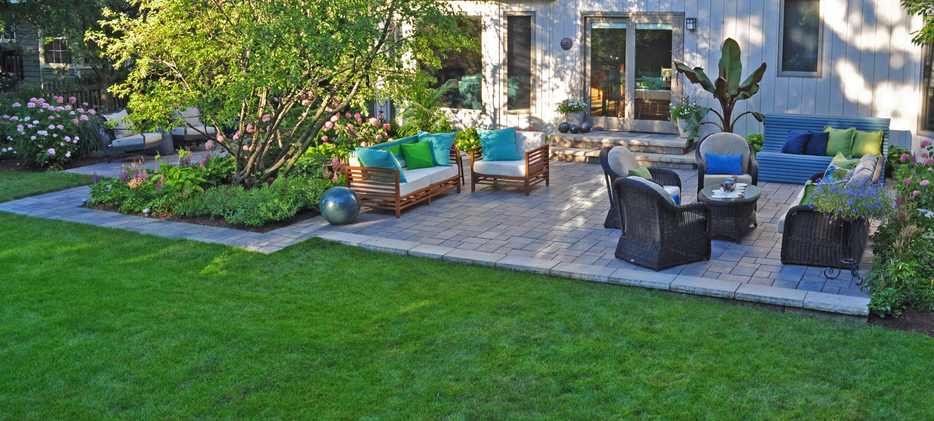 Concrete Pavers and Natural Stone for your Patio in ... on Long Patio Ideas id=74696