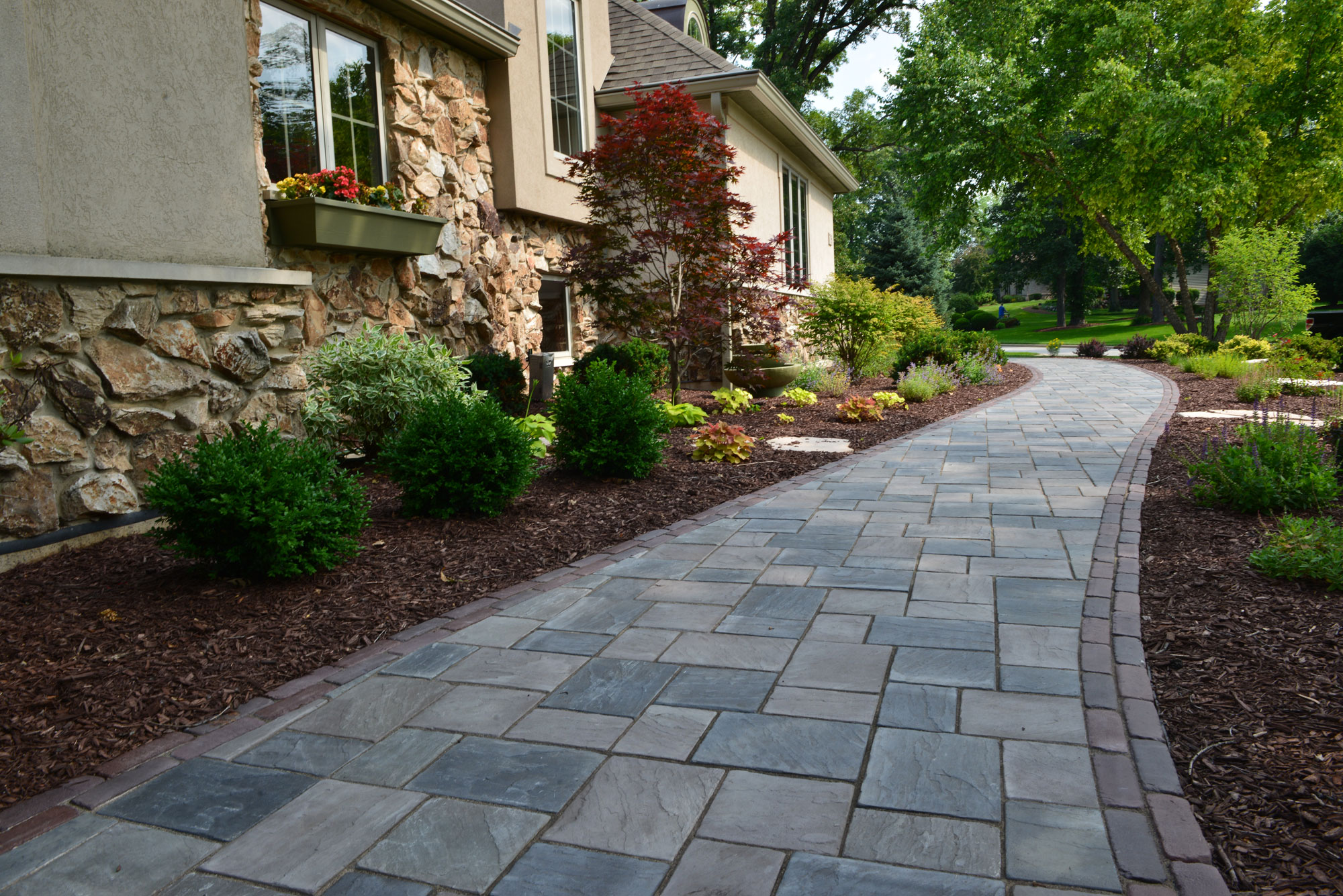 Incredible Landscaping Ideas to Transform your Front Yard ... on Yard Paver Ideas  id=40484
