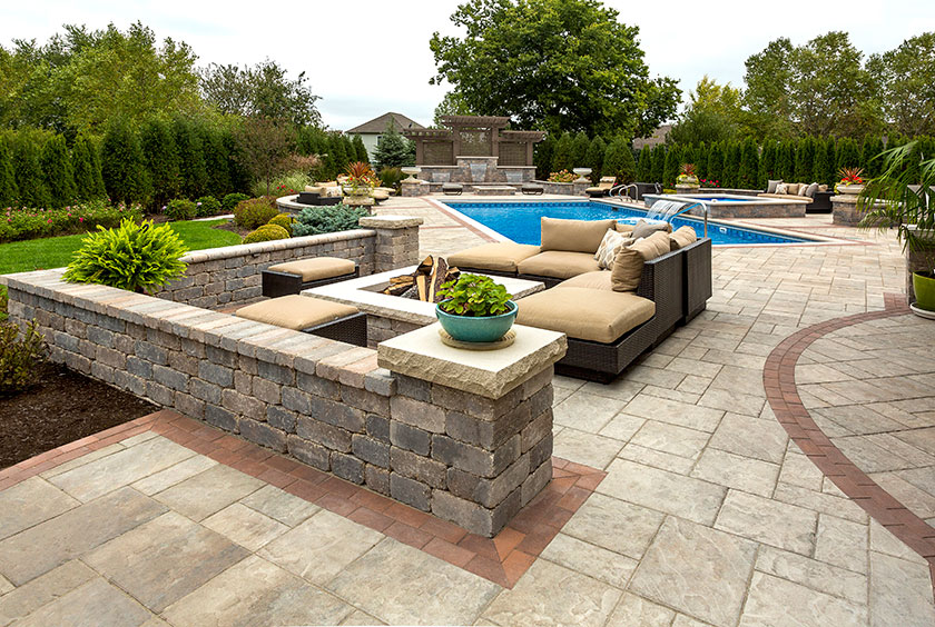 10 Ways to Create an Incredibly Beautiful Patio or Outdoor ... on Unilock Patio Ideas id=41636