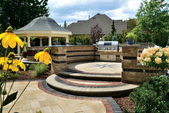 This Year: Patio Design is about Borders and Banding | Unilock on Unilock Patio Ideas id=86748