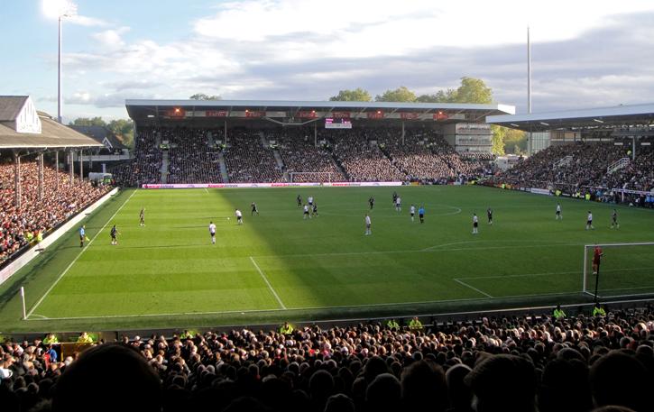 Craven Cottage - home of Fulham FC