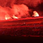 Sektor 1 - Main stand - shining in fire!