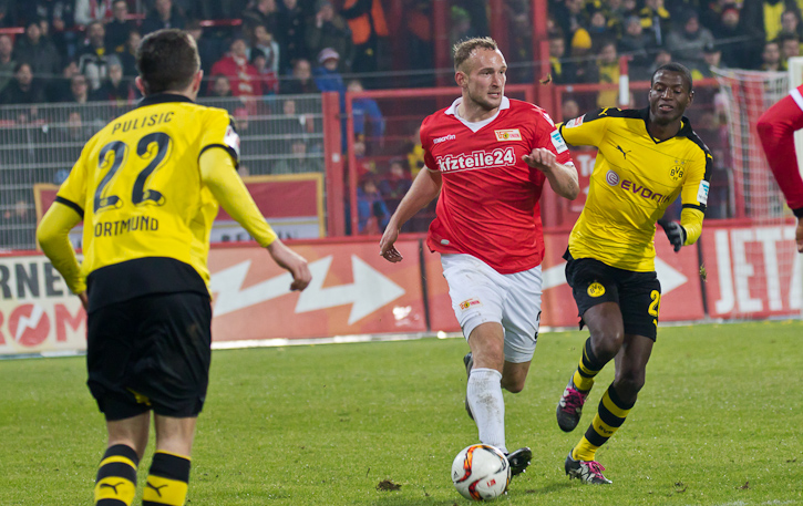 Union vs. Dortmund in 2016