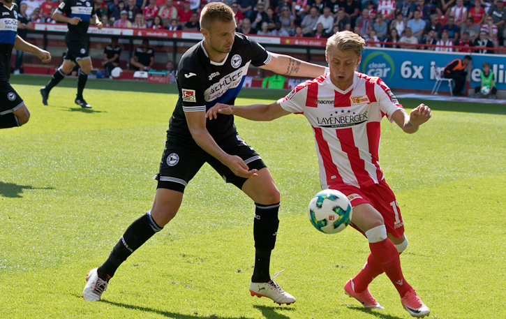 Hedlung - Union's most agile player today