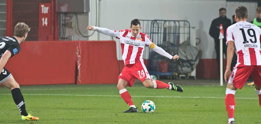 Skrzybski had a few shots on goal today