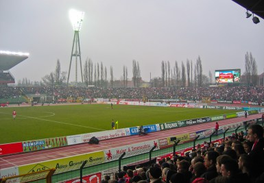 Dresden match @Jahnsportpark