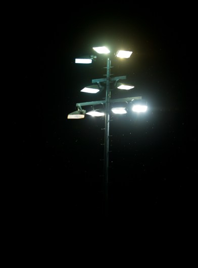Flimsy floodlights