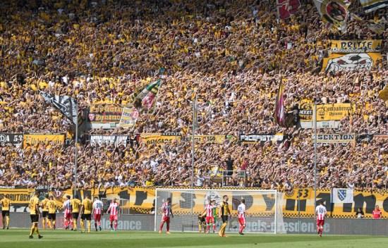 Dynamo fans in action