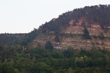 Message on the mountain