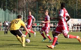 Abdullahi -> Mees -> Polter -> Goal!
