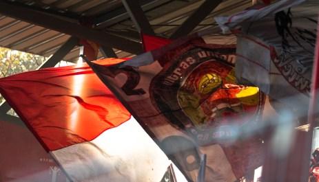 No flag, no club!