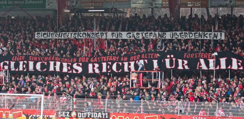 Fairer treatment for away fans