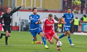 Prömel stopped in midfield