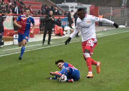 Abdullahi on the wing