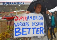 Workers are calling for higher wages, fair scheduling, broader access to management jobs and improved safety standards.