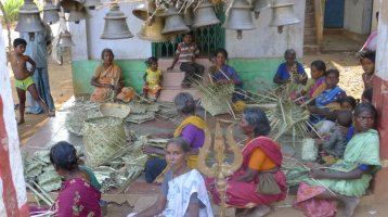 Women basket weavers are forming a cooperative based business