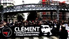 Manifestation en hommage à Clément Méric à Paris (juin 2013)
