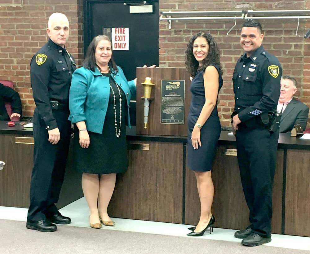 UCPD Honors Board of Ed for Supporting Special Olympics