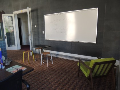 Breakout space at UnionClubTacoma where work gets done