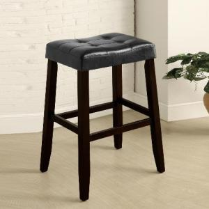 Union Furniture Dining Room 2987-BK Saddle Chair Stool