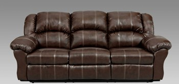 union furniture 1003 brandon brown reclining sofa