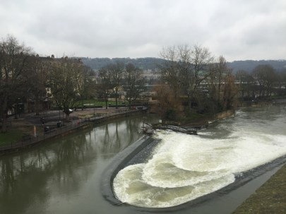 The Avon River in Bath