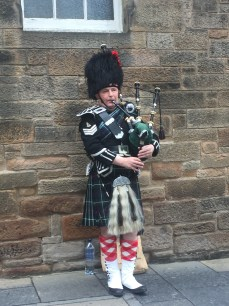 I loved hearing the bagpipes wherever we went!