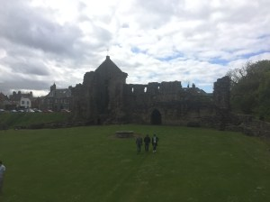 More castle ruins in St. Andrews