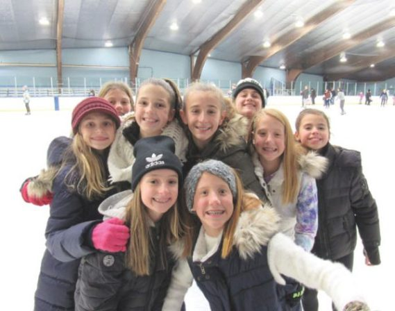 Blades of fun at annual Clark Family Skate