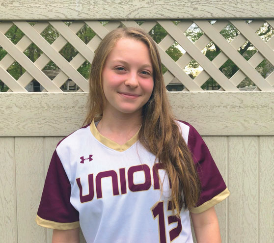 UNION FEMALE ATHLETE OF THE MONTH