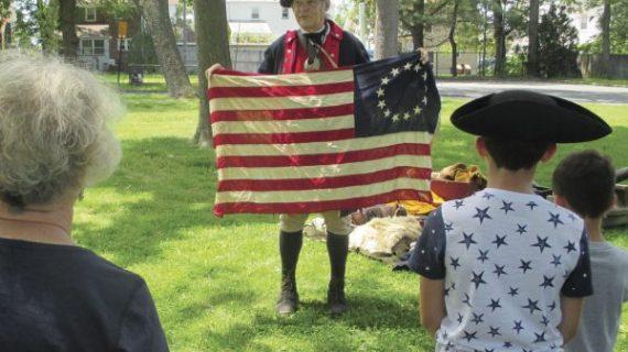 UNION – Revolutionary War Encampment – Friberger Park (May 2019)